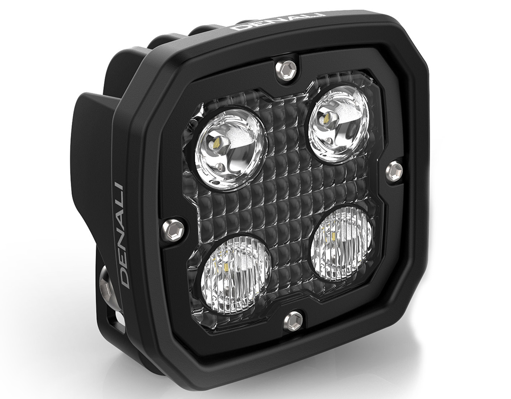 Denali sportouring denali 20 d4 led light pod with datadim technology single dendnld4050 parisarafo Choice Image