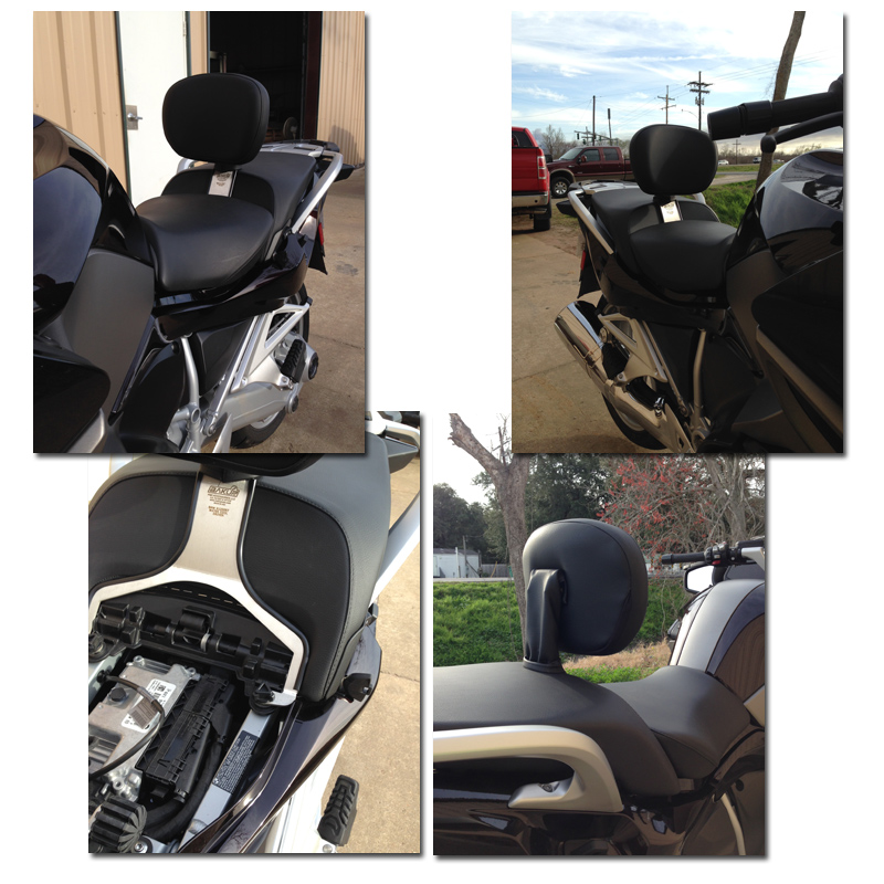 Bakup Backrest For R1200rt Lc Rider