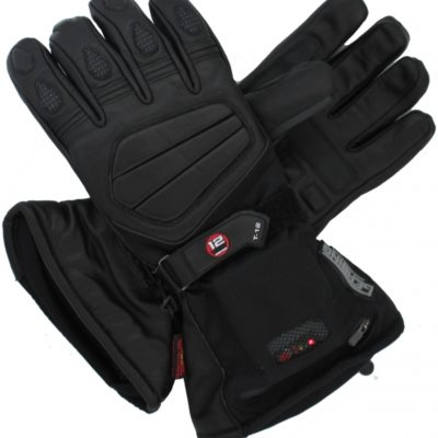 Gerbig T12 Heated Gloves - Hybrid - will also work with optional battery pack.
