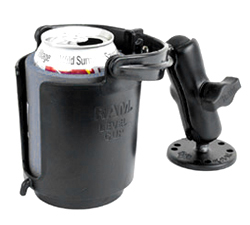 RAM-B-132 Drink Cup Holder Mount with Standard Arm & Round Base