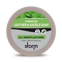 Storm leather_cream Storm Leather and Saddle Soap 350ml