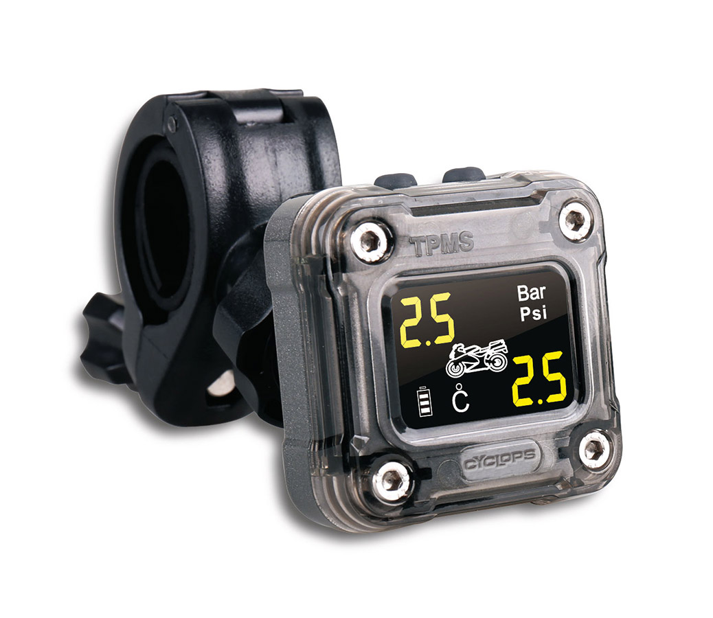 Tire Pressure Monitor >> Motorcycle Tire Pressure Monitoring System Sportouring